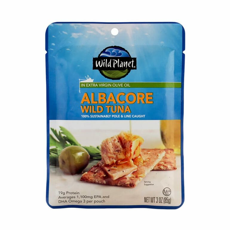 Albacore Wild Tuna In Extra Virgin Olive Oil Single-Serve Pouch – 3oz