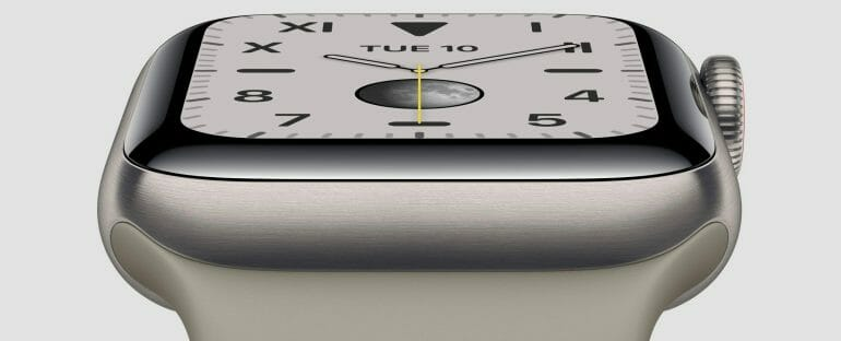 Apple Watch Series 5 - Titanium Finish