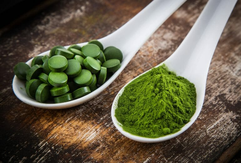 What is green food powder?