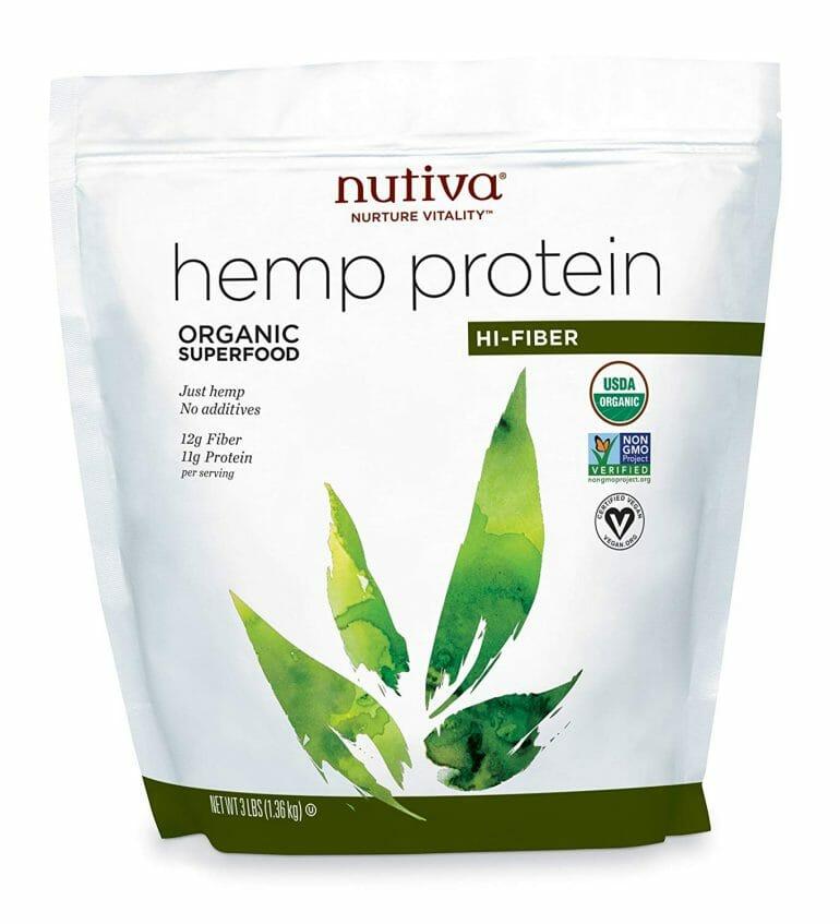 Nutiva Organic, Cold Processed Hemp Seed Protein