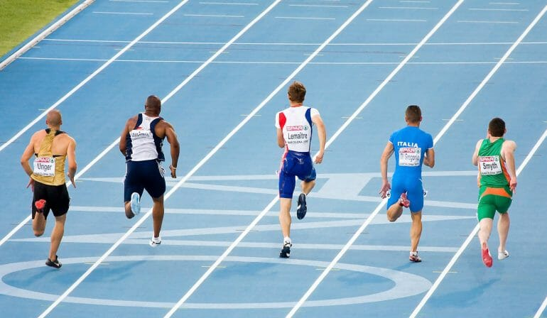 A 100m sprint is primarily powered by the phosphagen energy system