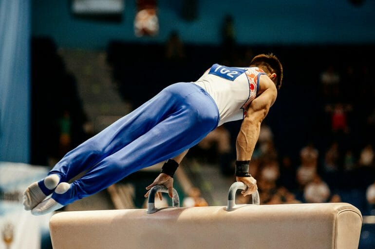 Elite gymnasts can use both fat and glucose for fuel