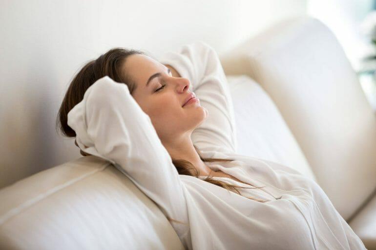Nasal breathing reduces stress