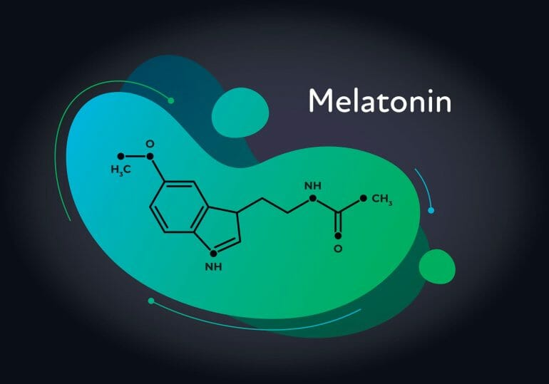 Sleep hormone melatonin