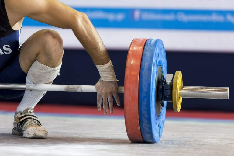 Weightlifters likely benefit from carbs as a source of fuel