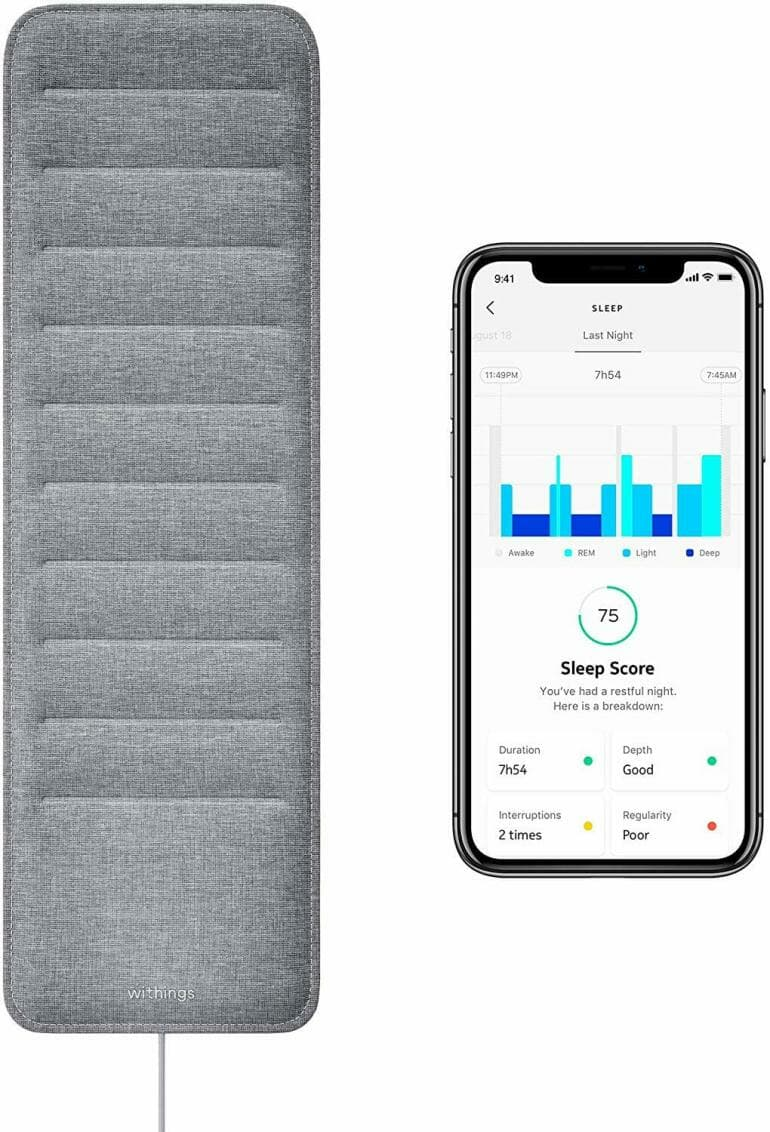 Withings Sleep Contactless Sleep Monitor