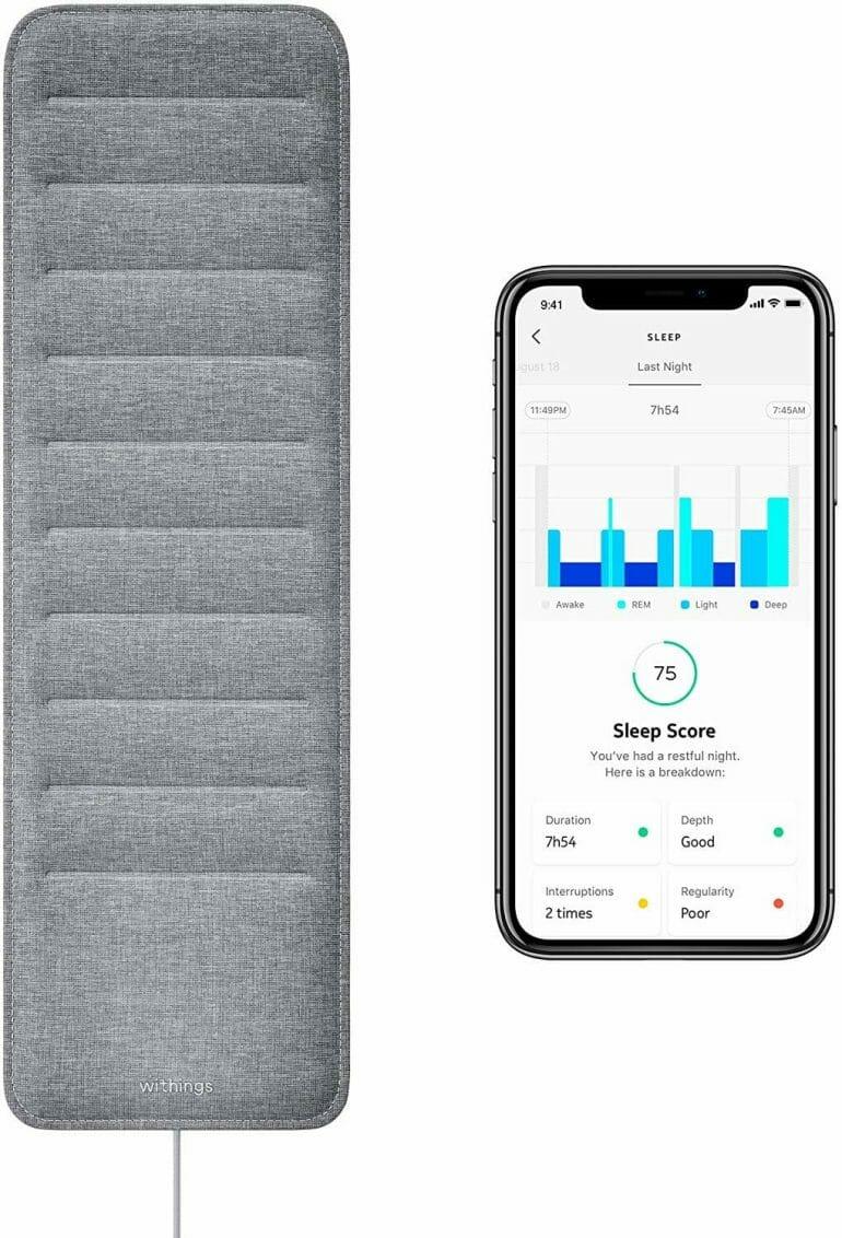 Withings Sleep Contactless Sleep Monitor