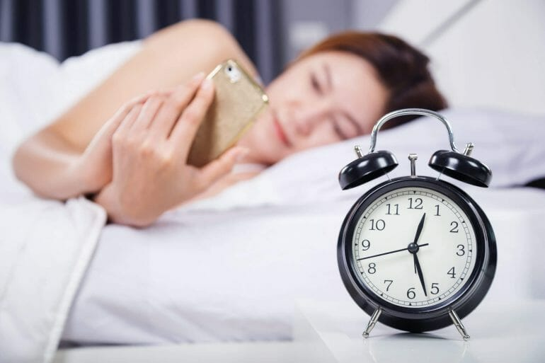 Sleeping in way past your usual wake time disrupts your circadian rhythm