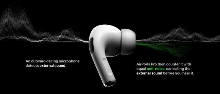 AirPods Pro Active Noise Cancellation