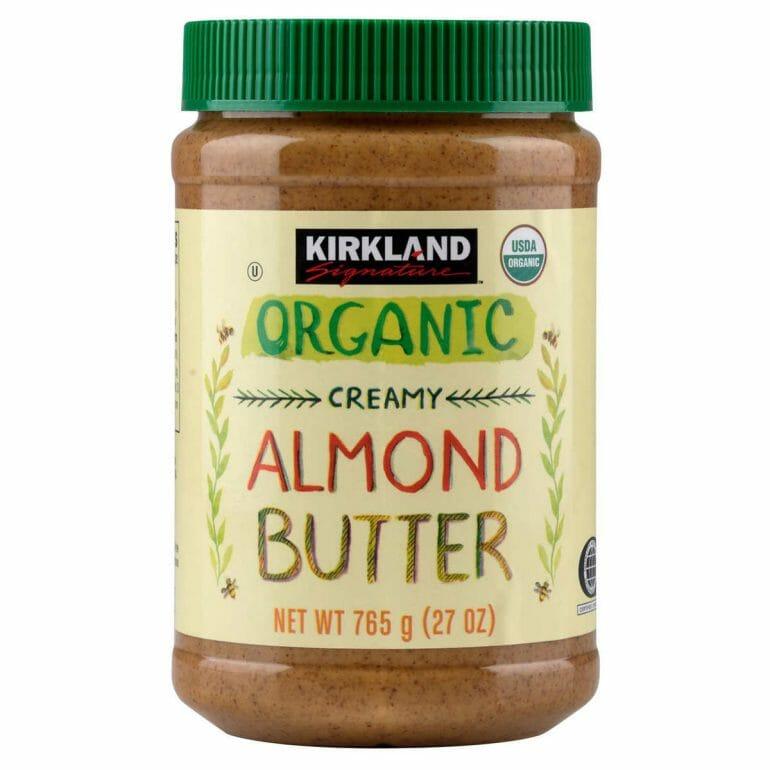Costco offers organic almond butter.
