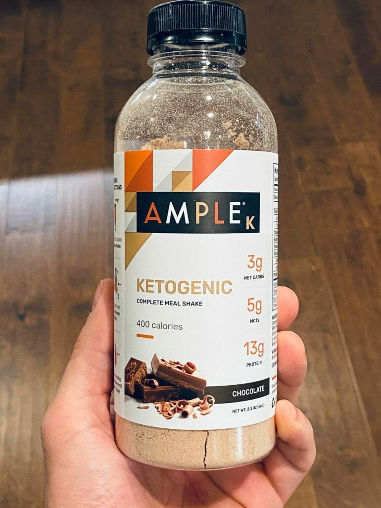 Ample K - Keto Meal Shake