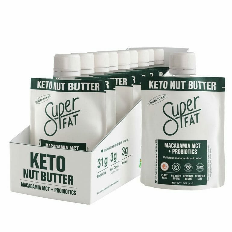 Macadamia MCT + Probiotics Nut Butter.