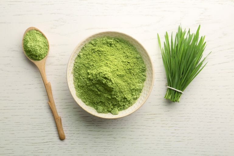 Wheat grass is naturally gluten-free.