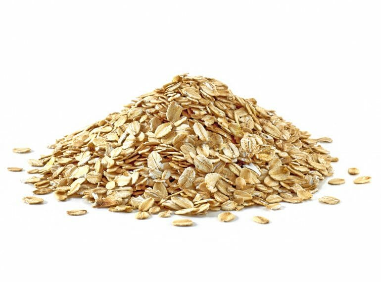 Whole-grain oats have a glycemic index of 55