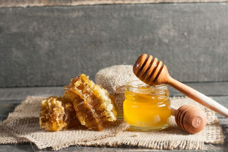 Honey raises your blood sugar slower than other sweeteners