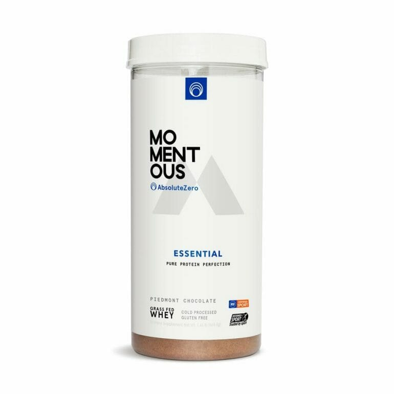 Momentous Essentiel AbsoluteZero Whey Protein