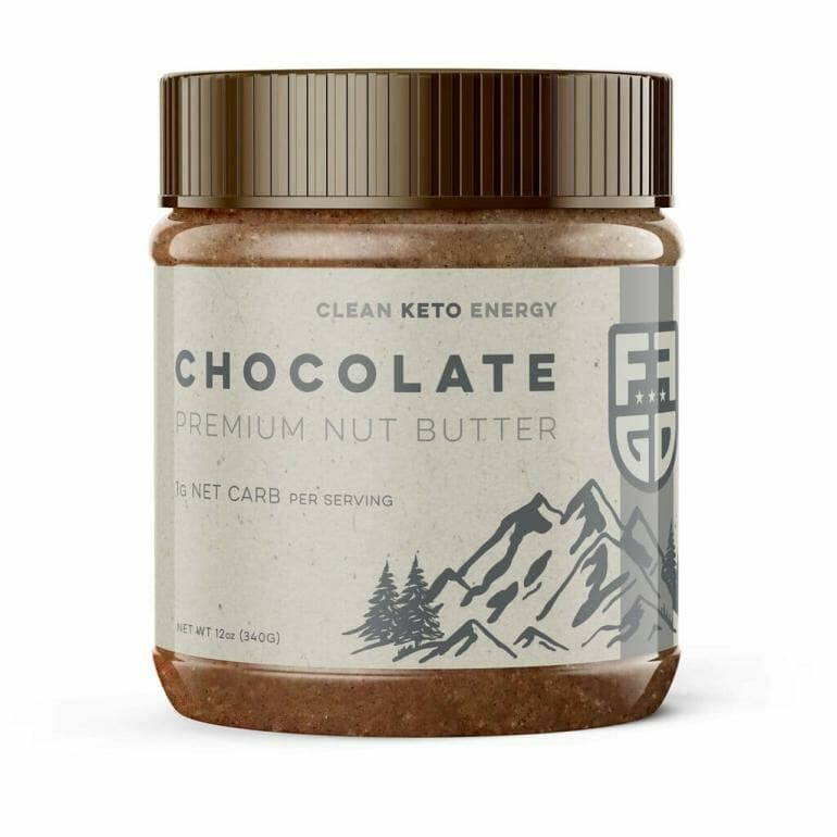 Fat Fit Go Nut Butter Jar Chocolate
