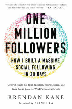 One Million Followers Book