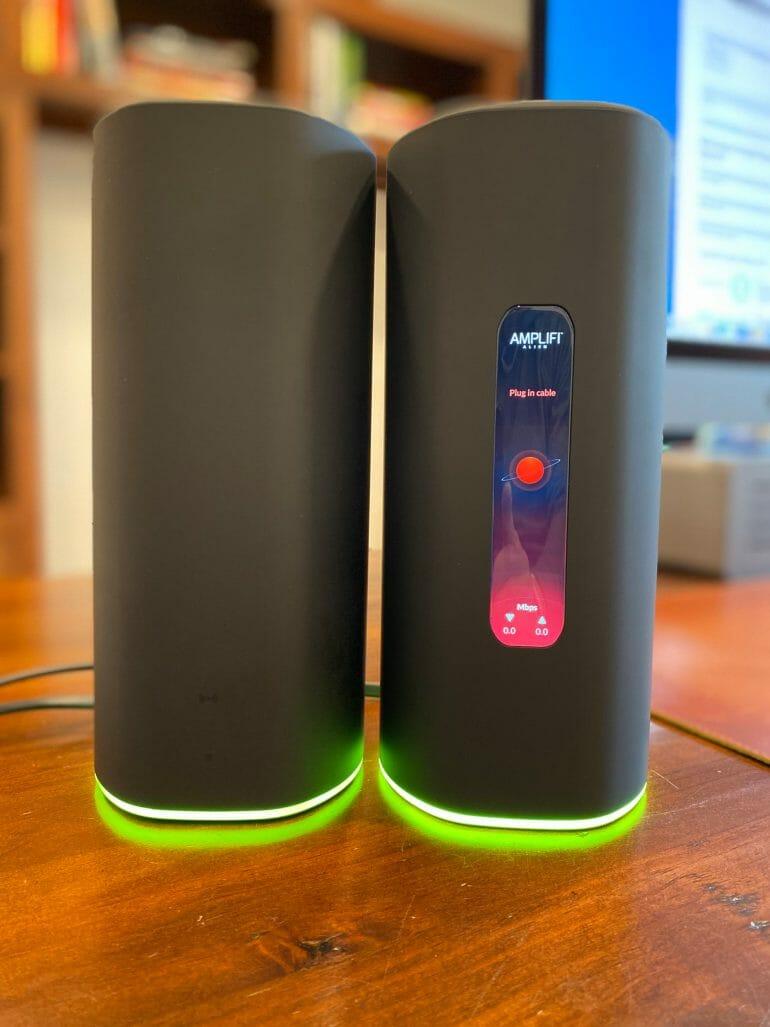 AmpliFi Alien router vs meshpoint