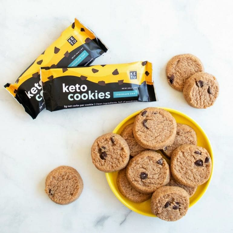 Keto Cookies - Chocolate Chip flavor