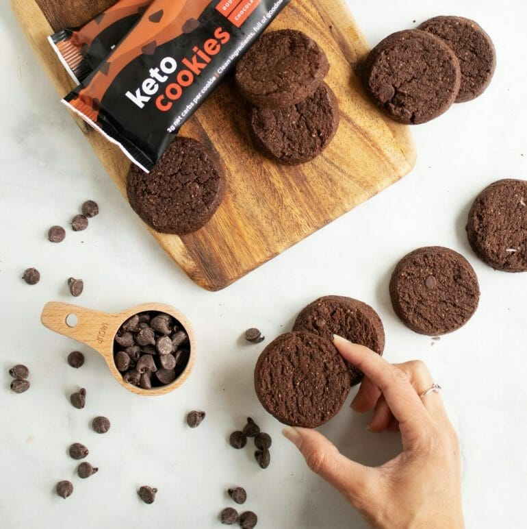 Keto Cookies - Double Chocolate