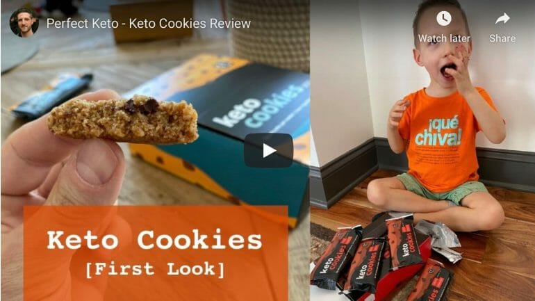 Perfect Keto - Keto Cookies