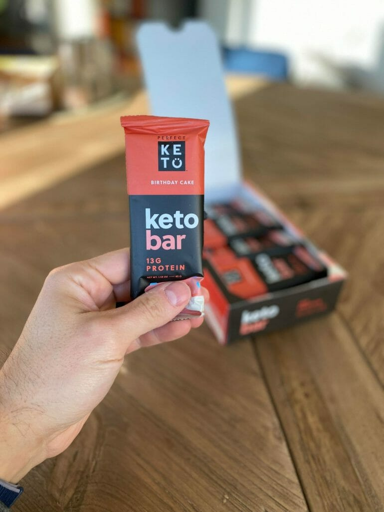 Perfect Keto bars review
