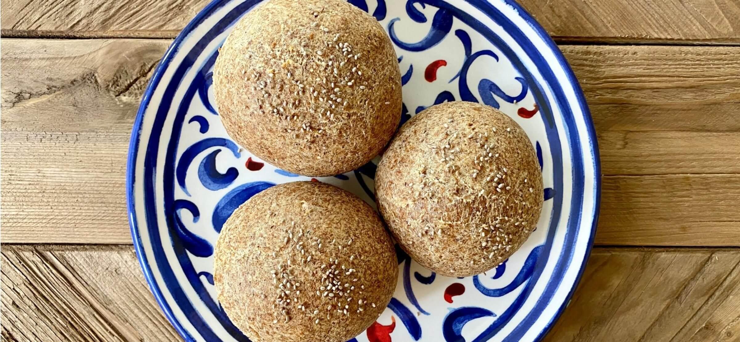 keto bread rolls recipe