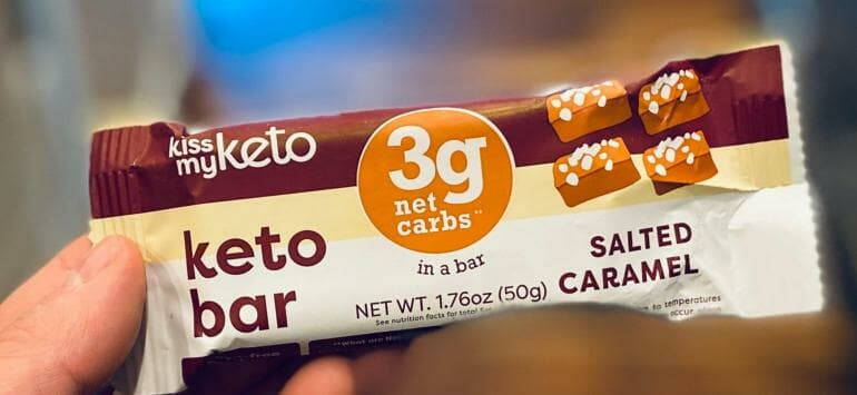 Kiss My Keto White Bars Review - Feature@2x