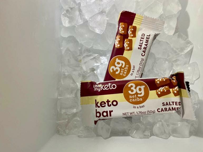 White bars in freezer