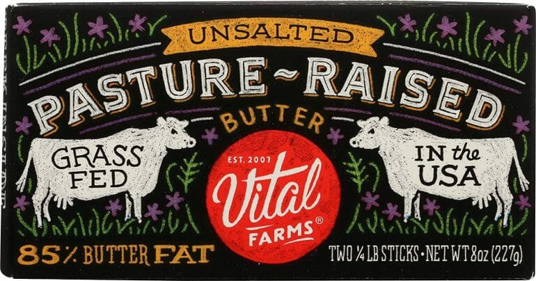 Vital Farms - Pastured raised butter