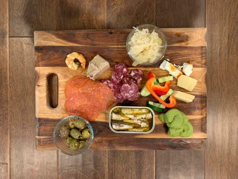 Keto dinner plate - 00013