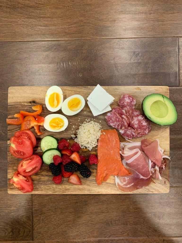 Keto dinner plate - 00014