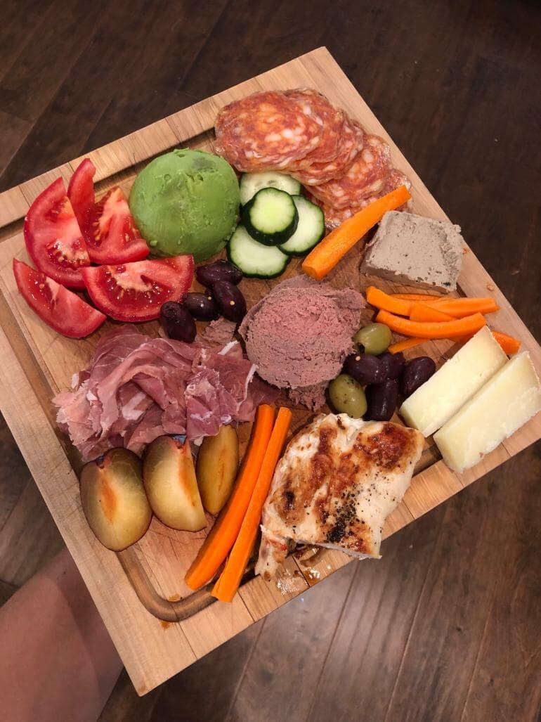 Keto dinner plate - 00015