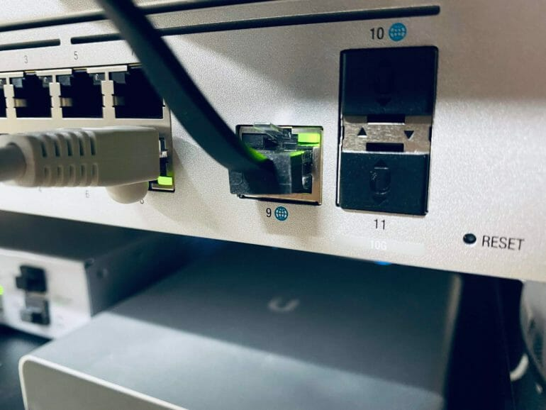 The UDM Pro has two redundant WAN ports
