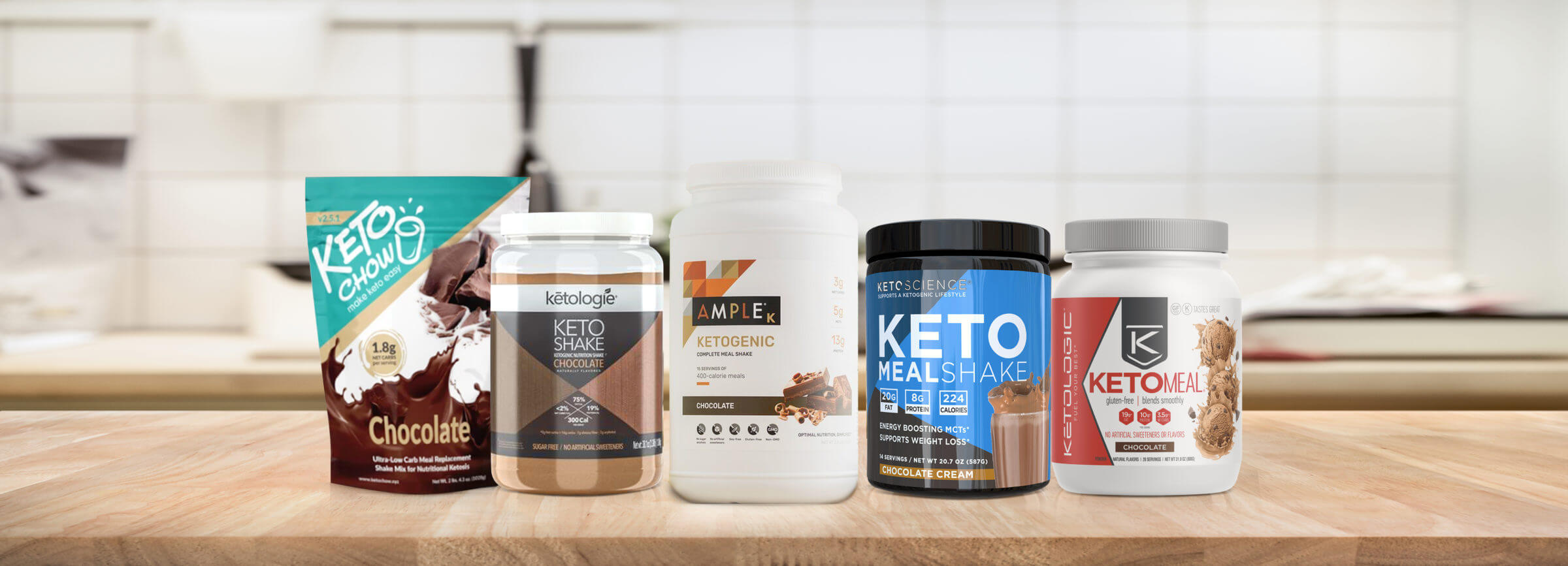 Top 5 Keto Meal Replacements
