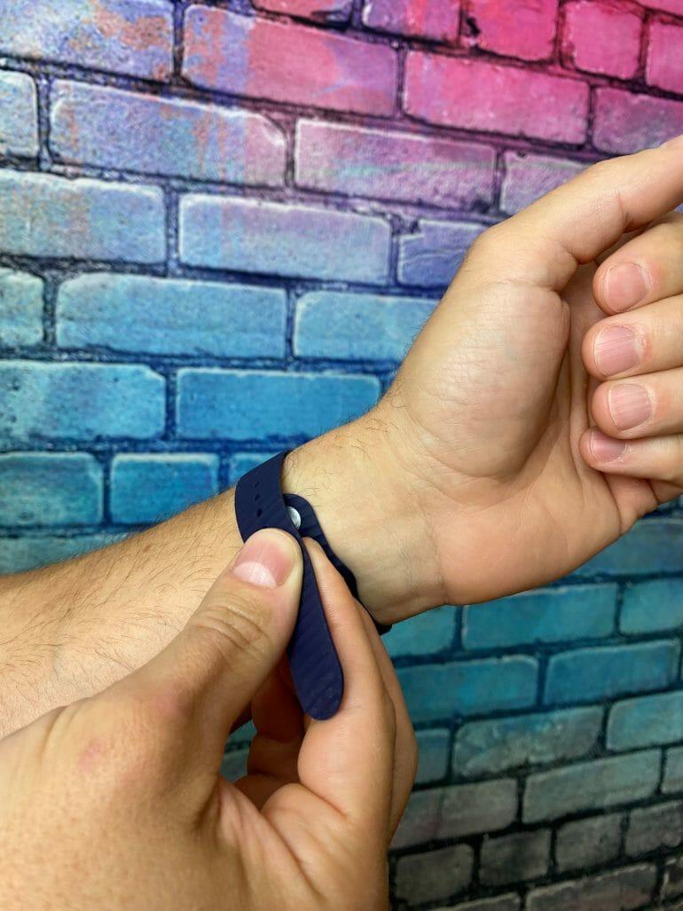 Biostrap - Pin and tuck closure - 3