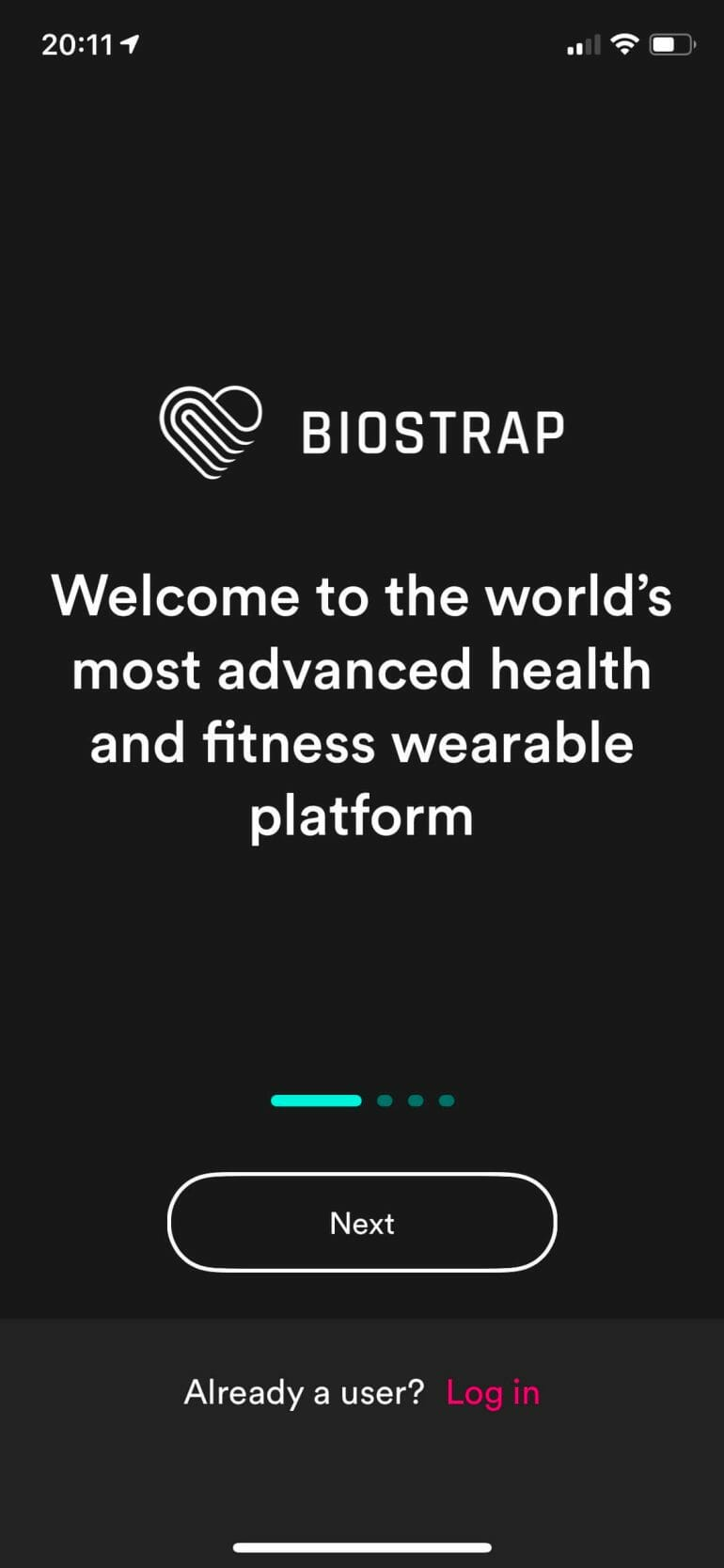 Biostrap - Setup