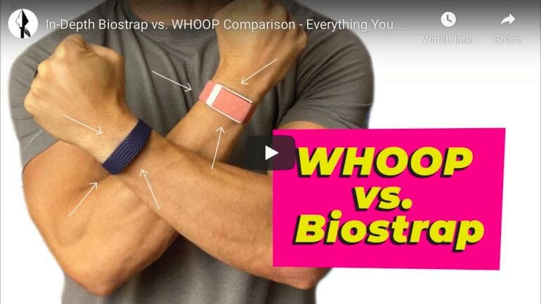 Biostrap vs. WHOOP - Ultimate comparison