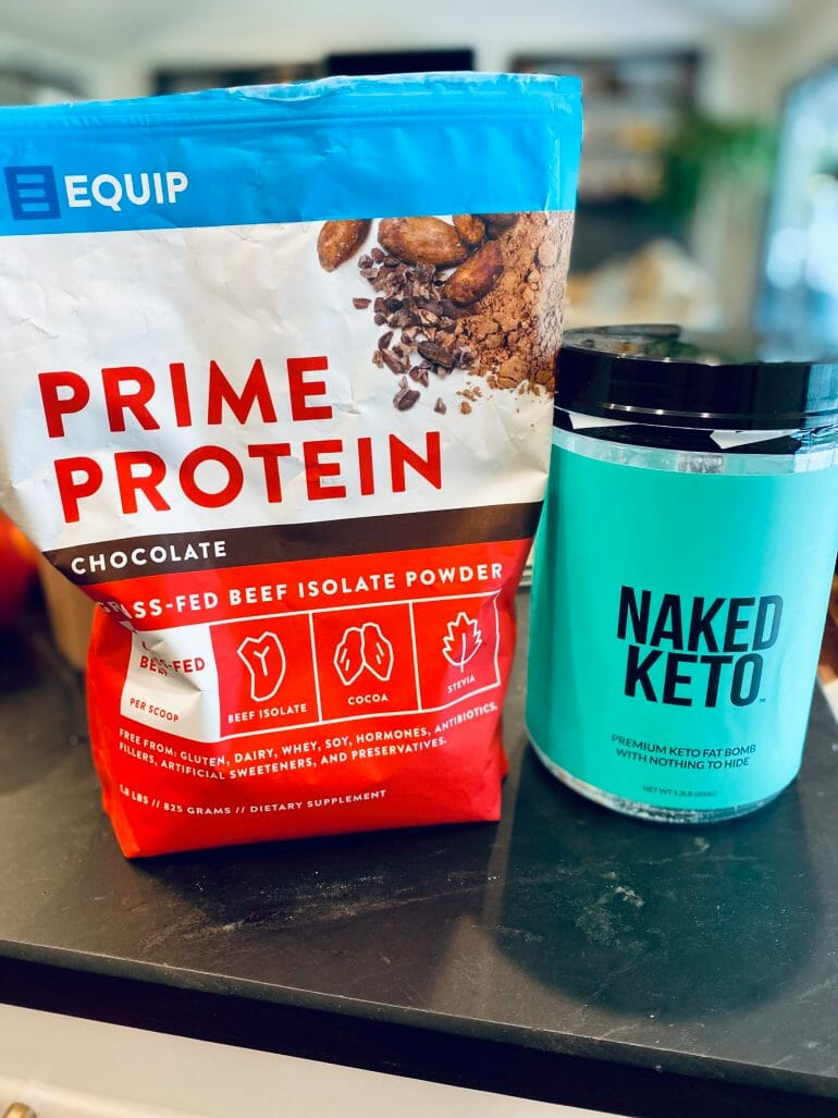 Equip Prime Protein with Naked Keto