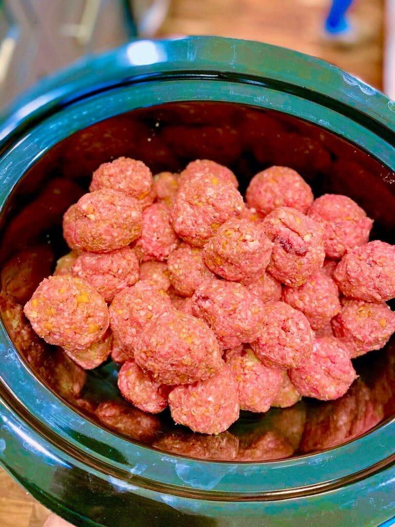 Liver meat balls