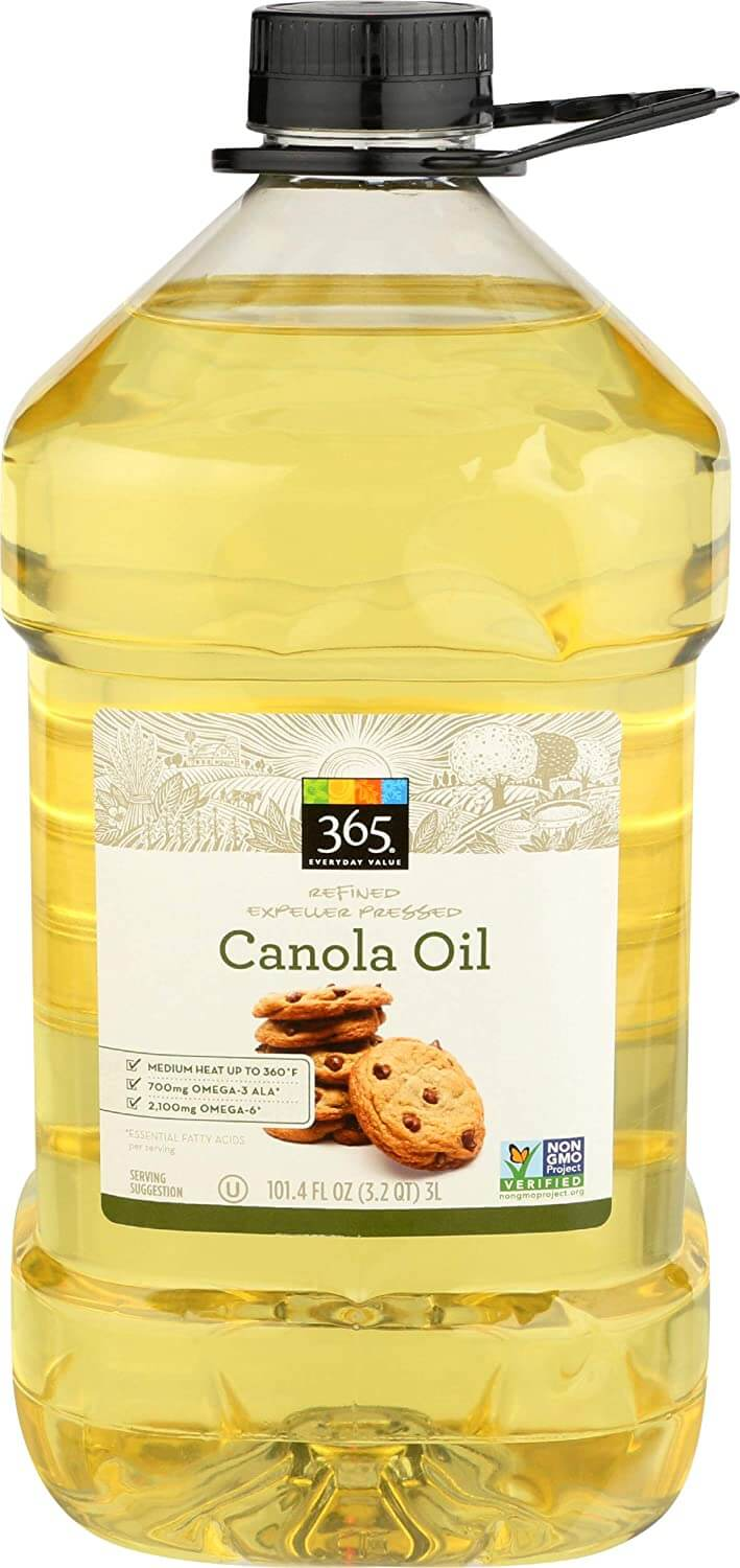 Canola oil is high in omega-6