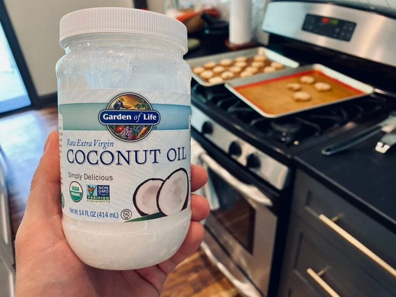 Coconut oil from Whole Foods