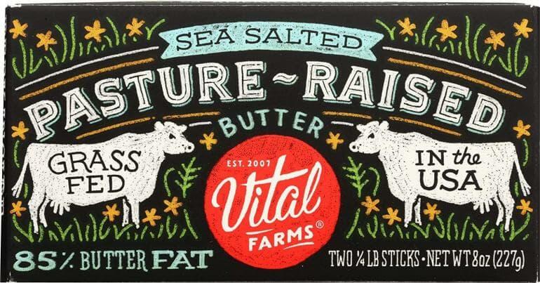 Vital Farms Pasture-Raised Butter