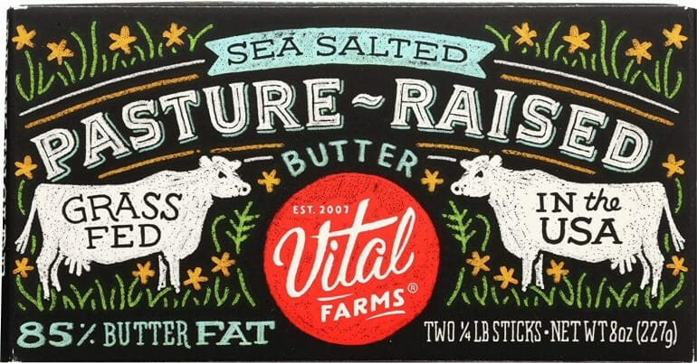 Vital Farms Pasture-Raised Butter