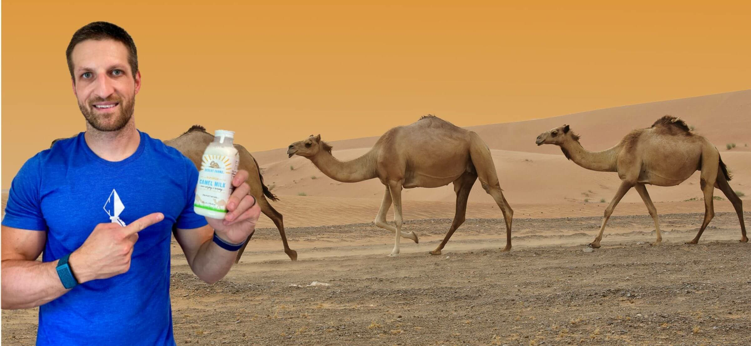 Is camel milk healthier than cow milk
