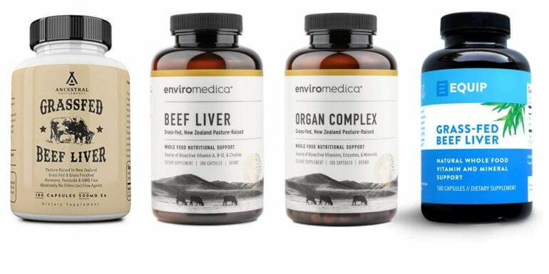 top 4 beef liver supplements@2x