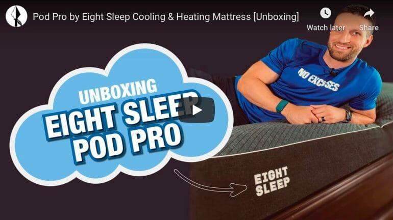 Eight Sleep Unboxing - YouTube
