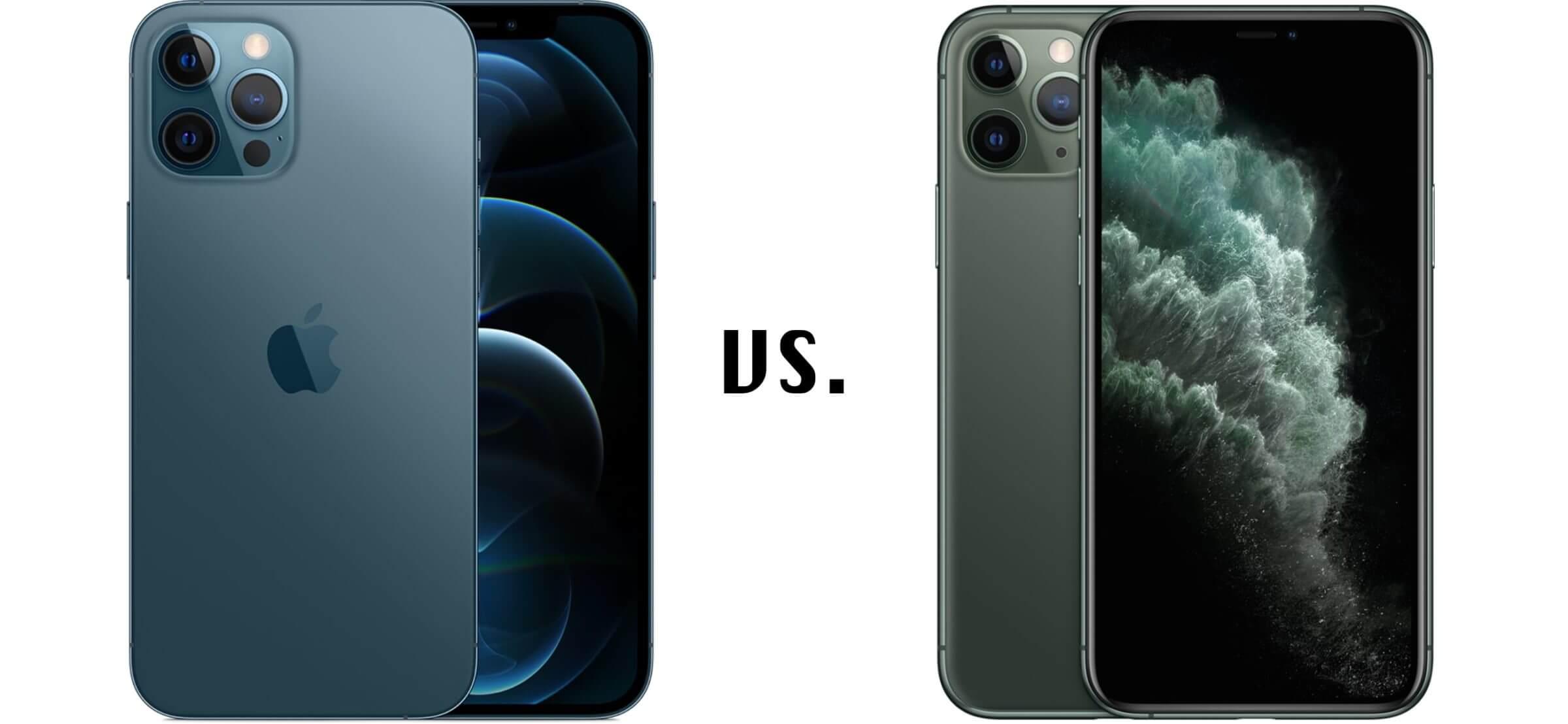 iPhone 12 Pro Max vs. iPhone 11 Pro