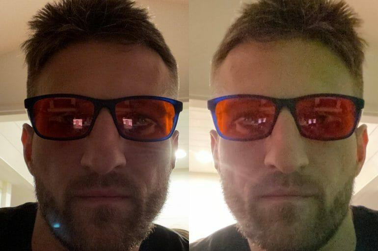 Low-light portrait mode - selfie camera@2x